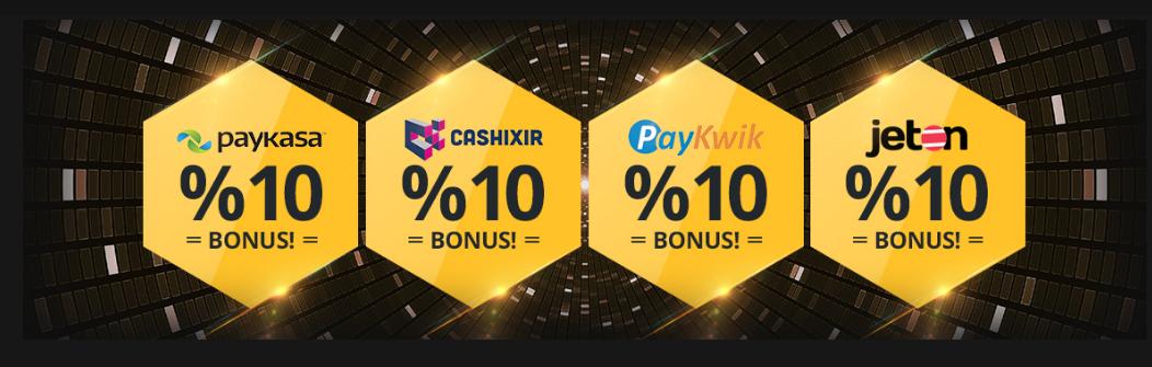 Ön Ödemeli Kartlara Yüzde 10 Bonus