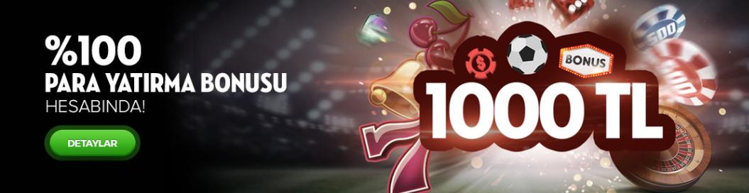 Bets10 dan 1000 TL Para Yatırma Bonusu