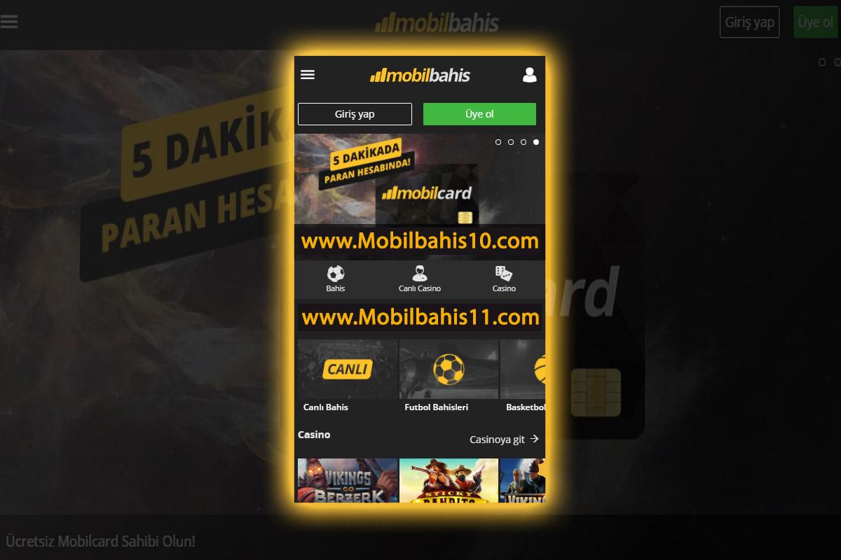 Mobilbahis10 ve Mobilbahis11.com Yeni Giriş Adresleri
