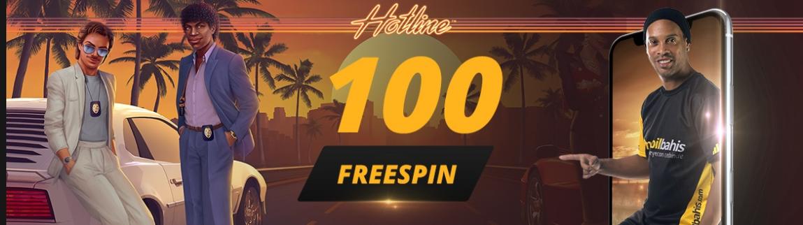 Mobilbahisten 100 Frespin